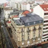 Réfection complète du dernier étage d'un immeuble à Biarritz