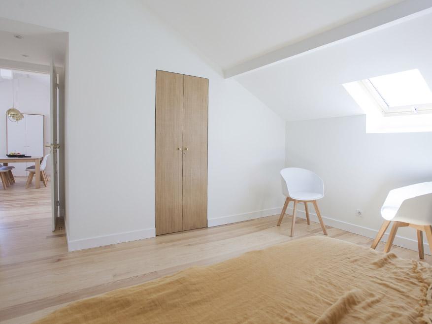 renovation appartement sous les toits
